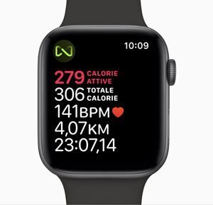 Smartwatch Sport - che dati mostra il display di Apple Watch durante l'allenamento corsa?