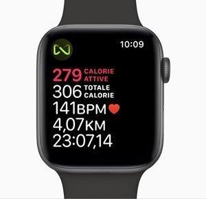 Smartwatch Sport - che dati mostra il display di Apple Watch durante l'allenamento corsa?