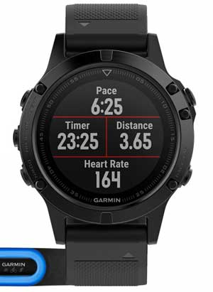 Smartwatch Sport - Quali info mostra il display di Garmin?