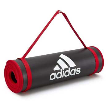 Tappetini Yoga - Adidas Tappetino Fitness Nero 10 mm