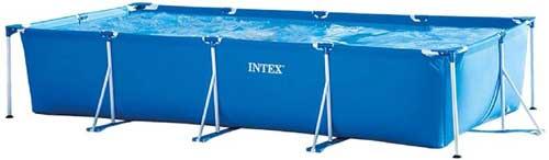 Migliori piscine fuori terra - Intex 28273 Piscina Rettangolare, senza Pompa Filtro, 450 x 220 x 84 cm, 7127 L