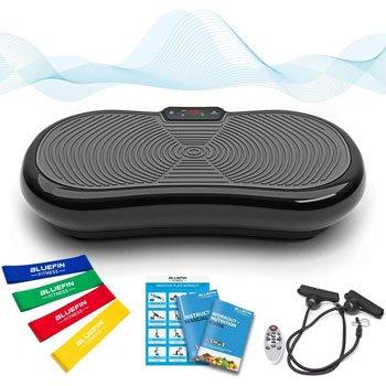 Pedana vibrante migliore - Bluefin Fitness Pedana Vibrante Ultra Slim
