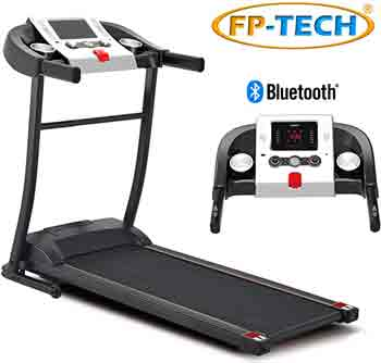 Tapis Roulant migliore - FP-TECH Tapis ROULANT Elettrico 1 HP 1000W