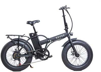 Bici elettrica migliore - Revoe 553503 Dirt Vtc Bicicletta Elettrica Pieghevole 20'