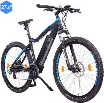Bici elettrica miglire - NCM Moscow Bicicletta elettrica Mountainbike, 250W, Batería 48V 13Ah 624Wh