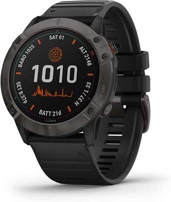 Smartwatch Sport - GARMIN fenix 6X Solar titanio DLC