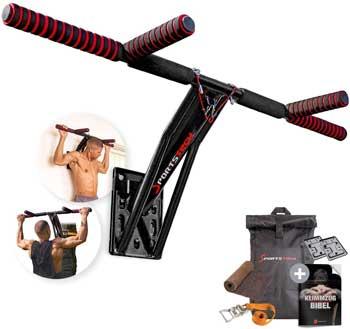 Sbarre per trazioni - Sportstech Premium 2in1 Sbarra Pull-Up & Dip Bar KS700